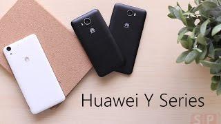 แกะกล่อง Huawei Y Series 3 รุ่น 3 สไตล์