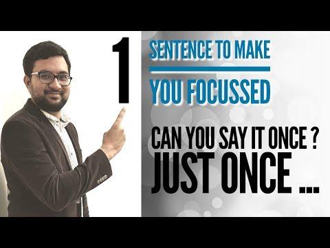 खुद से बस ये कहो , फिर देखो कमाल ! Psychology Hack to make You Study Long Hours with Concentration