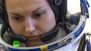 First Russian female cosmonaut in 17 yrs ready for ISS launch