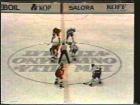 U18 1978 Ice Hockey European Championship final game: Finland-USSR