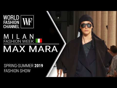 Max Mara | Spring-summer 2019 | Milan fashion week
