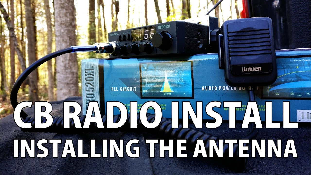 Cb Antenna Wiring