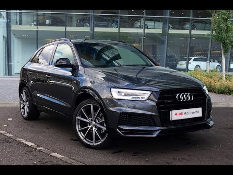 lb17euk audi q3 tfsi quattro s line black edition grey 2017 west london audi youtube. Black Bedroom Furniture Sets. Home Design Ideas