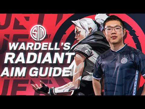 BEST VALORANT TIPS: HOW to aim like a RADIANT GOD! | WARDELL AIM GUIDE: PT 1 (TSM Valorant Gameplay)