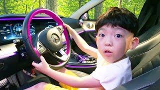자동차 타고 키즈카페 가요! We are in the Car Wheels On Bus Nursery Rhymes Song for kids & children
