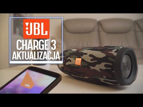 JBL Charge 3 - aktualizacja oprogramowania polepszająca JAKOŚĆ DŹWIĘKU?!