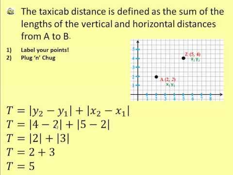 602 TaxiCab Geometry 202B