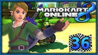 Mario Kart 8 Online Part 36: Link im Bike Albtraum!
