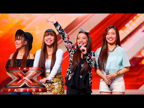 Thumbnail: 4th Power raise the roof with Jessie J hit | Auditions Week 1 | The X Factor UK 2015