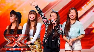 4th Power raise the roof with Jessie J hit | Auditions Week 1 | The X Factor UK 2015 thumbnail