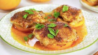 Курица по-мароккански в духовке. Рецепт от Всегда Вкусно!