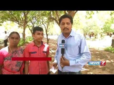 Tamil Nadu SSLC results : Palayamkottai blind student scores 489 | News7 Tamil