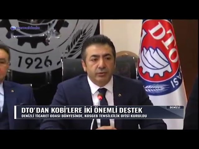 Pamukkale TV-DTO'dan KOBİ'lere iki önemli destek 09 042019