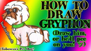 How To Draw Gryphon ✎ Tobuscus