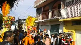 Chinelos Carnaval Tetelcingo 2015