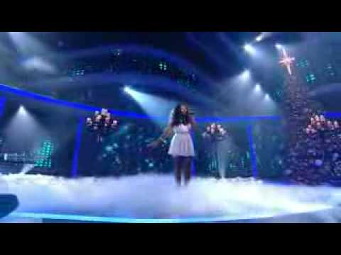 X Factor Final 2008  Alexandra Burke  Silent NightHD