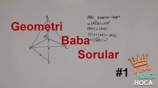 Geometri Zor(Baba) Soru Çözümleri #1