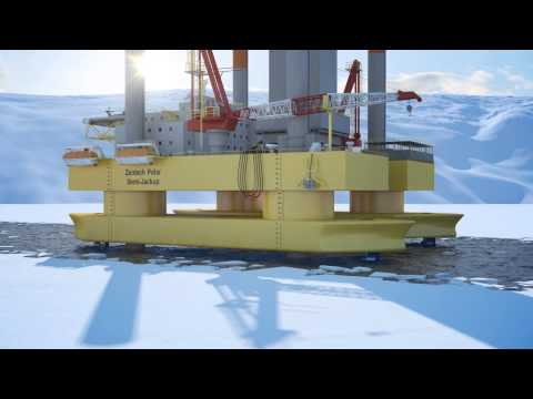 Arctic Oil Rig Animation - 3D Technical Demonstration - Trinity Animation