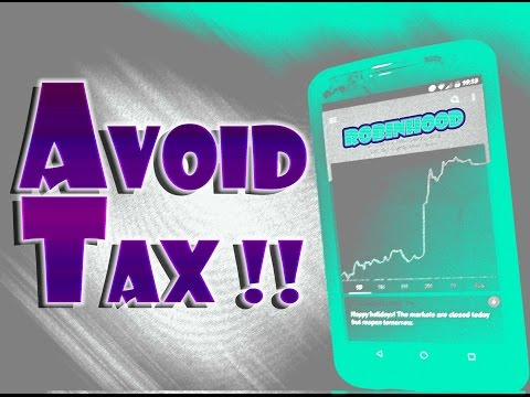 Robinhood APP - SAVE MONEY By Using TAX LOSS HARVESTING!