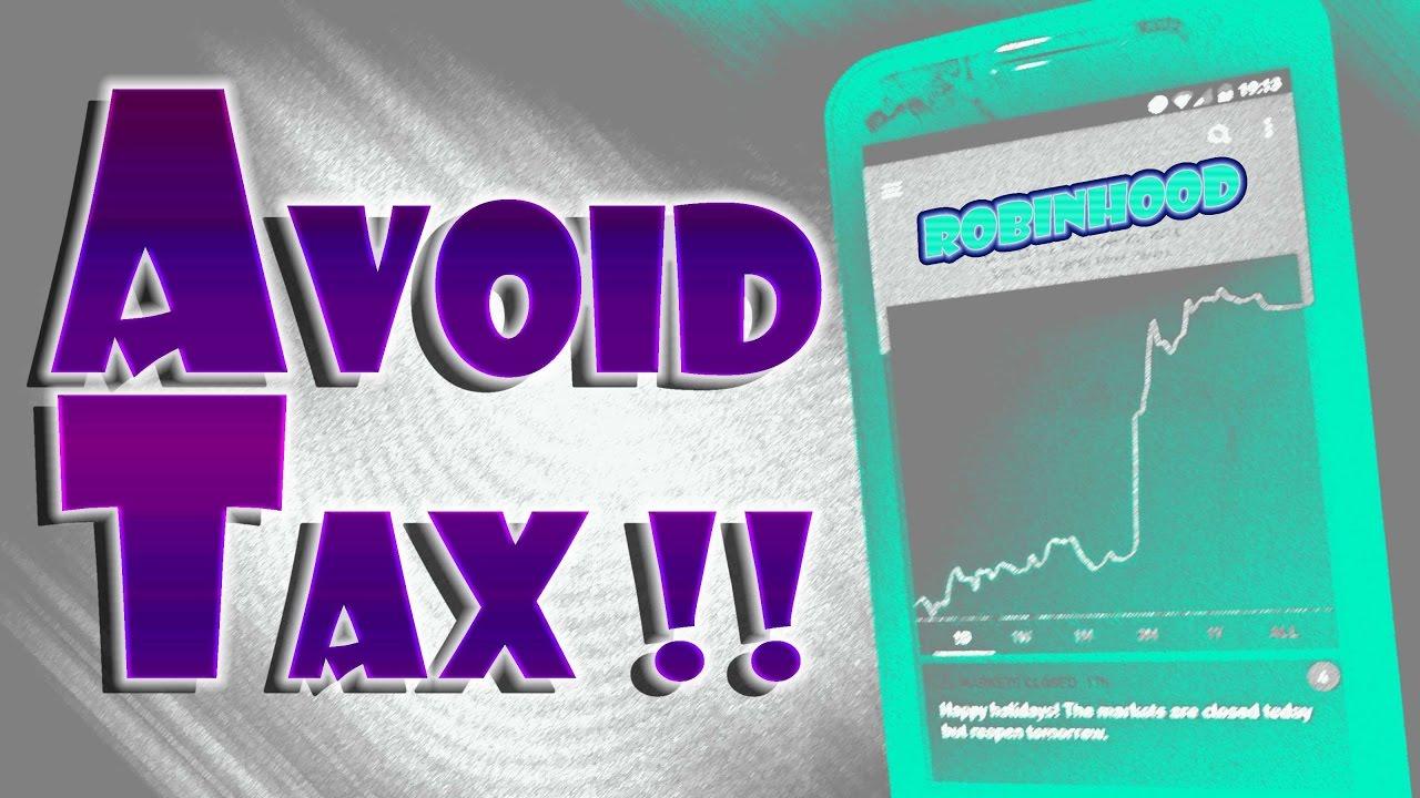Robinhood APP - SAVE MONEY By Using TAX LOSS HARVESTING!