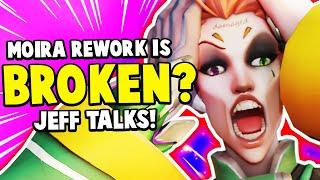 Overwatch - Moira Rework BROKEN?! Jeff Talks!
