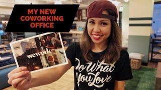 WEWORK OFFICE TOUR - MY NEW COWORKING OFFICE SPACE IN WEWORK LONG BEACH | Vlog 086