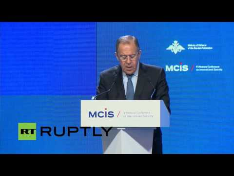 LIVE: International security conference opens in Moscow (eng)