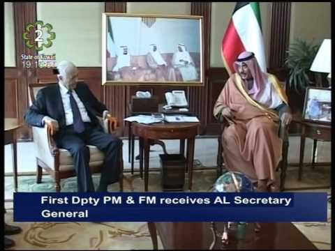 First Deputy Premier & Foreign Minister meets Arab League Secretary General Nabil Elaraby