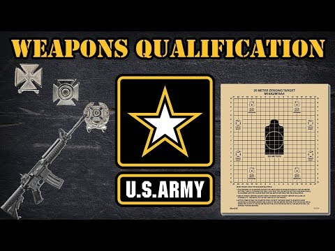 Weapons Qualification In The US Army