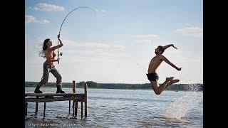 Четкие приколы на рыбалке #2