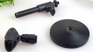 Настольная микрофонная стойка с AliExpress: обзор