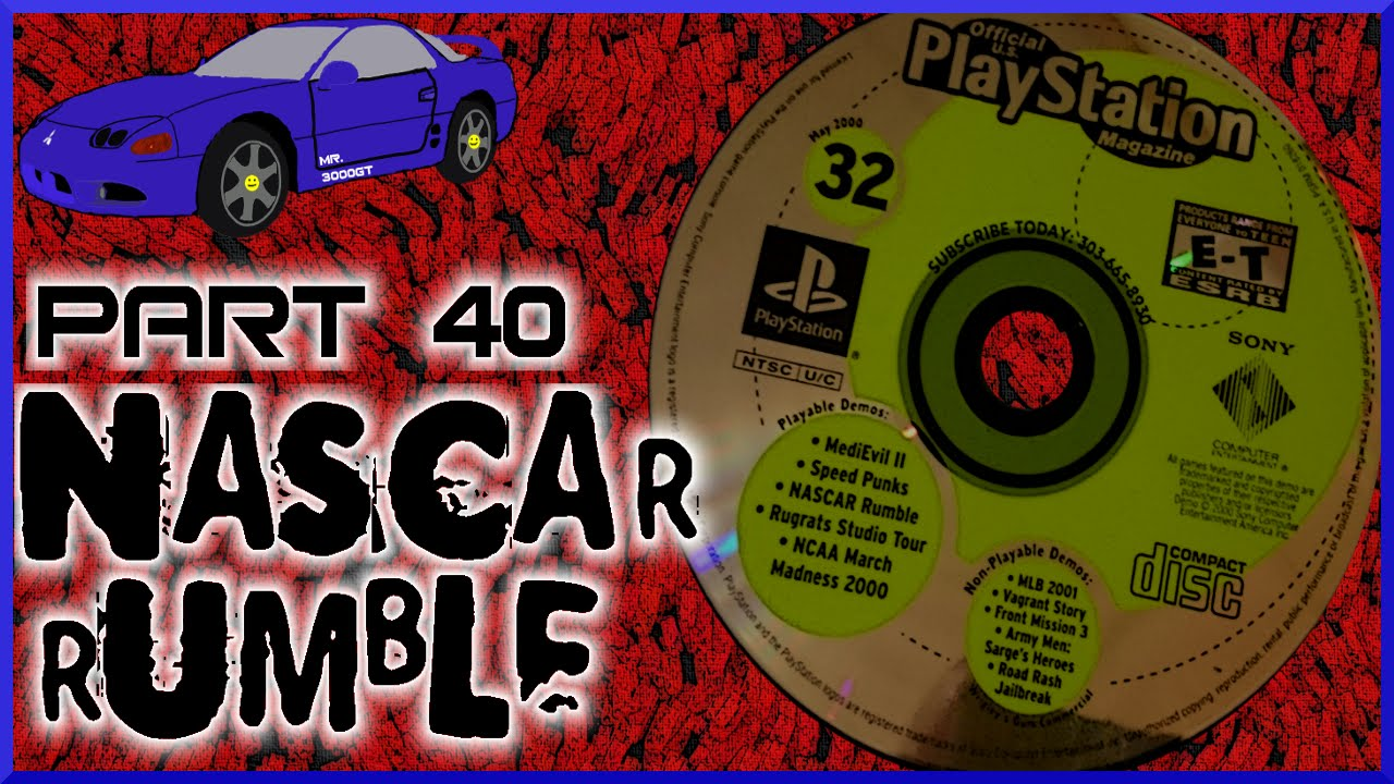 """NascaR-V"" Nascar Rumble: PSX Demo Disc Part 40 - YouTube"