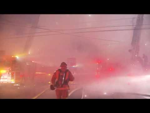Maywood Magnesium Fire Explosion