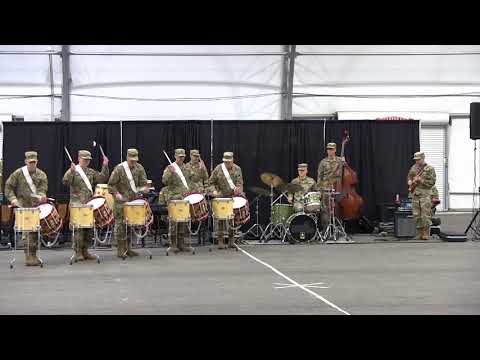 Army Field Band Rehearses for Norwegian Tattoo