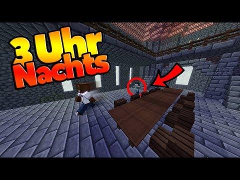 Spiele NIEMALS Minecraft Um Uhr Nachts YouTube - Minecraft spielen um 3 uhr nachts