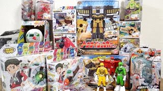 金のDXパンダも貰えたよ!カミワザワンダの玩具が大量発売!DXトウサイジュウオーもついに発売!真の大量買い動画 thumbnail