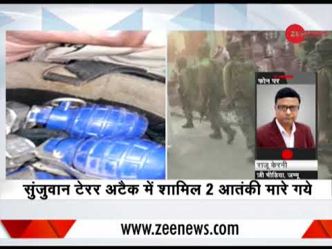 Sunjwan Army Camp terror attack: 2 terrorists shot dead in Jammu