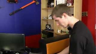 nerdytec COUCHMASTER Ultimate PC Gaming Accessory Unboxing & First Look Linus Tech Tips