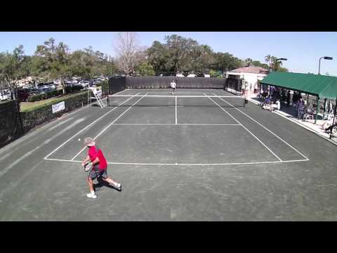 First Class Senior Tennis - Palm Aire CC Men's 65 Singles Final 2016 -