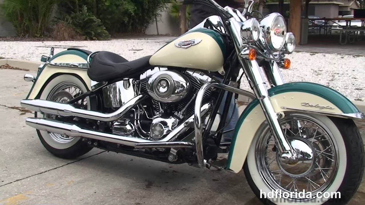 used 2009 harley davidson softail deluxe motorcycles for sale dunedin fl youtube. Black Bedroom Furniture Sets. Home Design Ideas