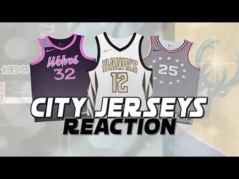 REACTING TO ALL THE NEW NBA CITY JERSEYS! | KOT4Q