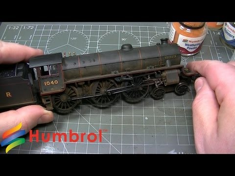 Humbrol – Weathering Powder – Hornby Class B1 Steam Loco