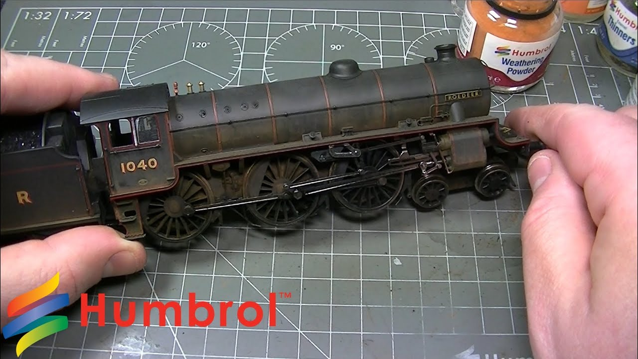 Humbrol - Weathering Powder - Hornby Class B1 Steam Loco