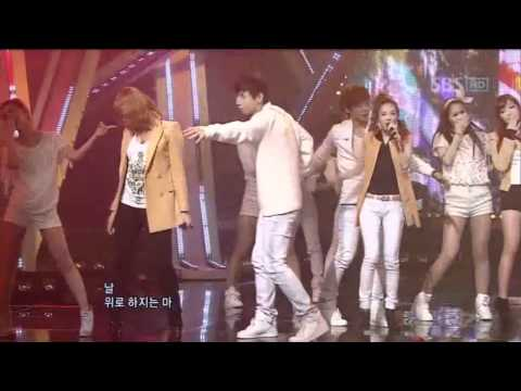 2NE1  Go way 투애니원  Go way @ SBS Inkigayo 인기가요 101024