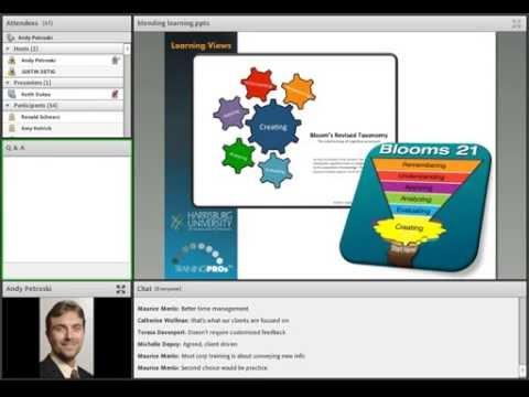 Creating Online Blended Learning Webinar