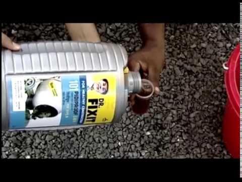 Integral Waterproofing - Dr Fixit LW+ Benefits