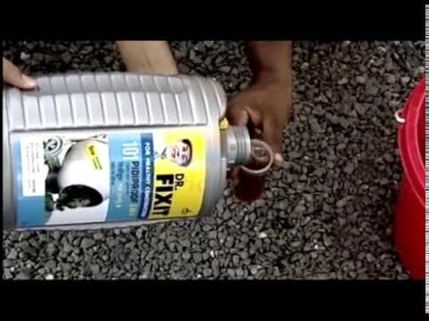 Integral Waterproofing Dr Fixit Lw Benefits Youtube