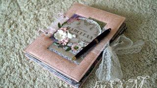 Фотоальбом/книга пожеланий на свадьбу. Скрапбукинг.