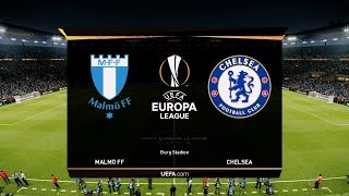 Malmo vs Chelsea - Europa League 14 February 2019 Gameplay