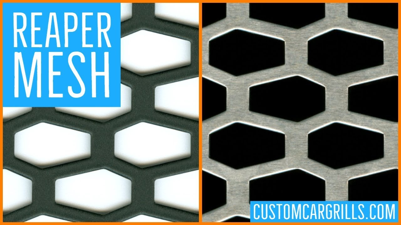 REAPER Universal Aluminum Grill Mesh - by customcargrills com